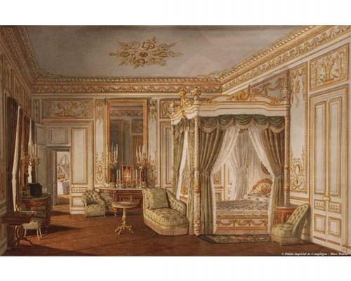 Chambre à coucher de l'impératrice Eugénie