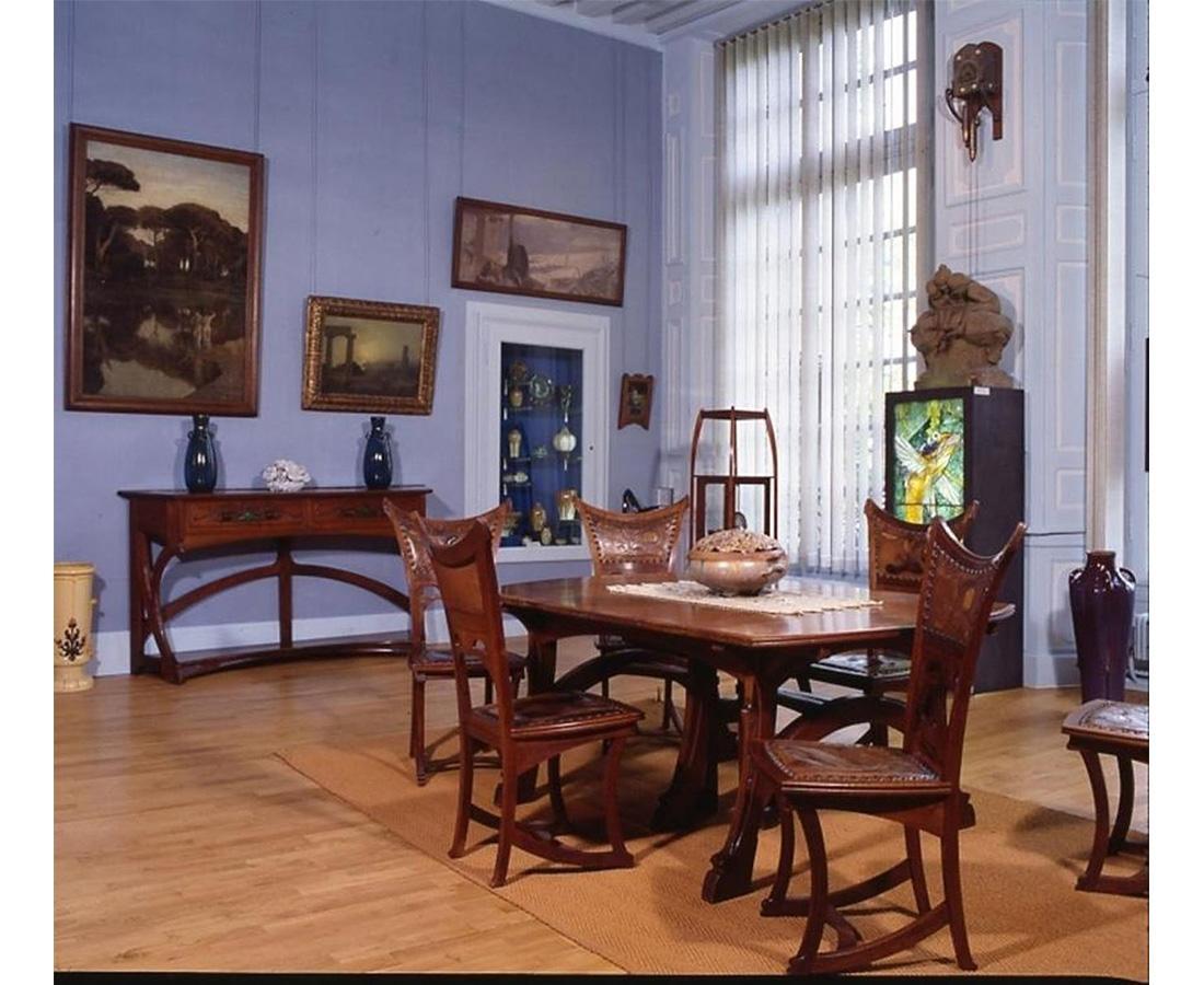salle manger art nouveau